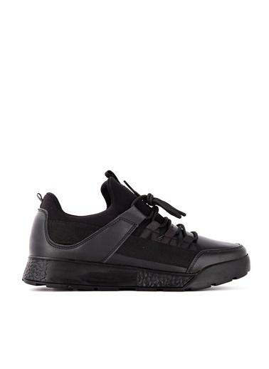 Slazenger Slazenger ZEBER Koşu & Yürüyüş Erkek Ayakkabı    Siyah